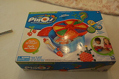 PIXOS PixOs on the go Portable Pack 1 playset Crystal NIB Magically join w/water