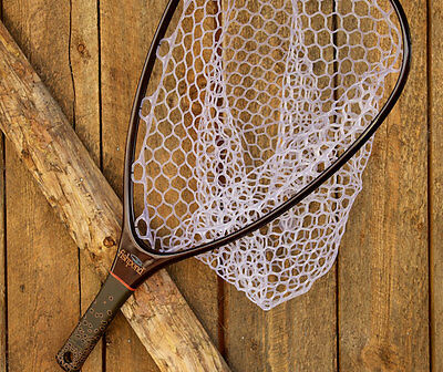 Fishpond Nomad Hand Landing Fishing Net Tailwater Light Carbon Fiber& Rubber Bag