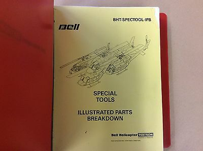 Bell Helicopter Special Tools Illustrated Parts Breakdown Textron Manual