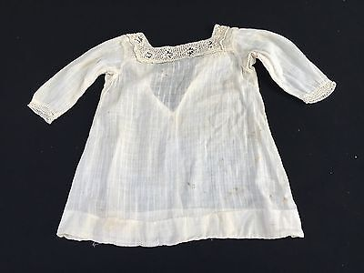 Antique/vintage Early 1900's Antique White Baby Dress Or Gown
