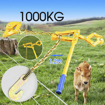 Wire Fencing Strainer Plain & Barbed Chain Repair Tool Electric Fence Energiser