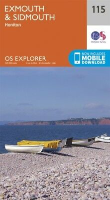 OS Explorer Map (115) Exmouth and Sidmouth (Map), Ordnance Survey...