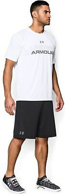 Under Armour Herren Fitness Sport Short UA Raid International schwarz