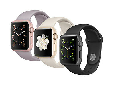 Apple Watch Sport 38mm mit Sportarmband Aluminium Smartwatch *ANGEBOT*