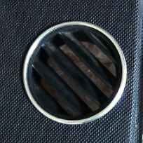Vw  Volkswagen Beetle Aluminium Demister Windscreen Air Vent Surround Rings
