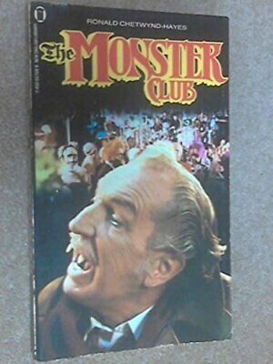Monster Club by Ronald Chetwynd-Hayes Paperback Book The Cheap Fast Free Post
