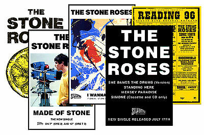 Stone Roses - Set Of 5 A4 Posters # 3