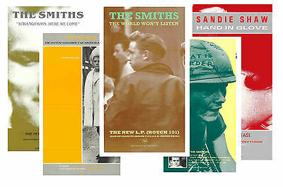 The Smiths - Set Of 5 - A4 Poster Prints # 4
