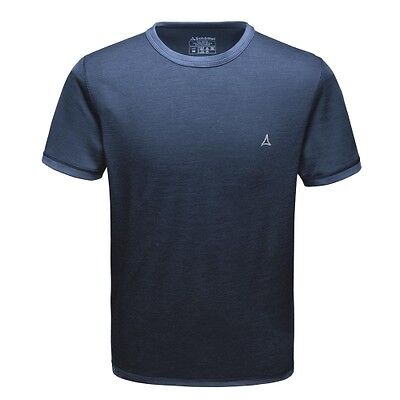 Schöffel Merino Sport Shirt 1/2 Arm M imperial blue men T-Shirt Funktionsshirt