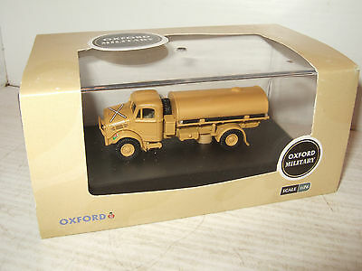 Oxford Diecast 76BD007 Bedford OY 3 Ton Water Tanker, RASC HQ in 1:76 Scale.