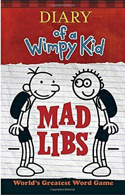 Diary of a Wimpy Kid Mad Libs by Price Stern Slo Book The Cheap Fast Free Post