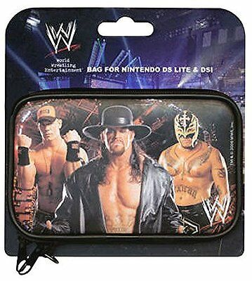 Nintendo 3DS DSi DS Lite * NEW Official WWE Wrestling Protective Carry Case