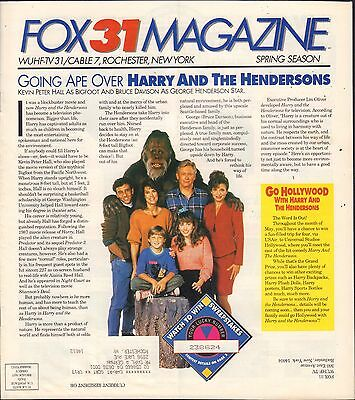 Fox31 Magazine Rochester Harry and The Hendersons 1990's w/ML 082416DBE
