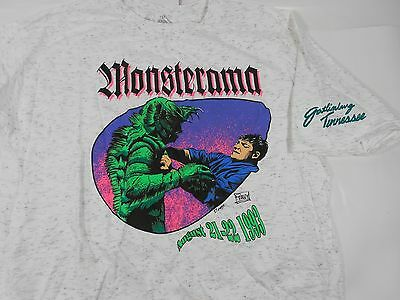Unworn Monsterama Con 1993 Creature From The Black Lagoon Xl T-Shirt Peavy