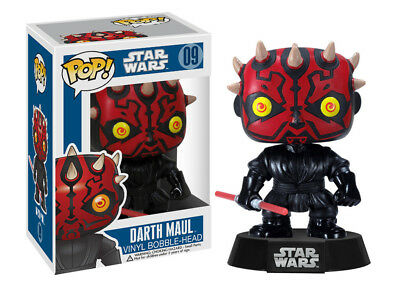 Funko Pop Star Wars: Darth Maul Vinyl Bobble Head Action Figure Collectible Toy