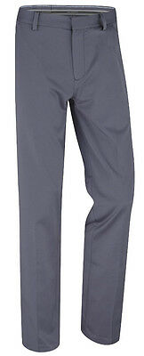 Ashworth Synthetic Stretch Flat Front Pant   Graphite 38x32 - mens golf pants