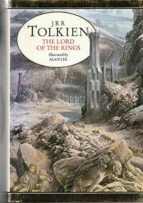 Tolkien Jrr Illustrated Lord of Rings HB, Unnamed Hardback Book The Cheap Fast