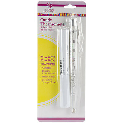 Candy Thermometer-, Set Of 3