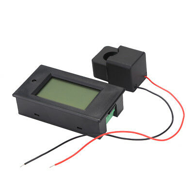 AC 80-260V 100A Voltmeter Power KWh Current Meter Open-close Current Transformer