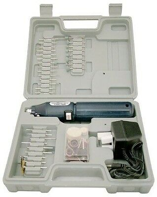 Cordless Hobby Rotary Mini Tool Drill + Case + 60 Accessories + Case