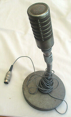 Vintage  Microphone & Stand