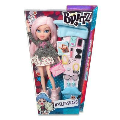 Bratz Selfie Snaps Cloe Fashion Doll With Accessories Girls Gift Toy