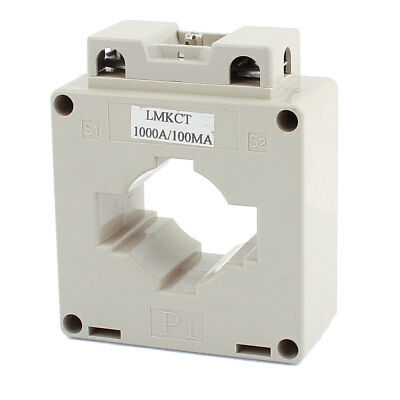 LMKCT 1000A/0.1A Ratio 1T Conductor Through Current Transformer CT for Tests