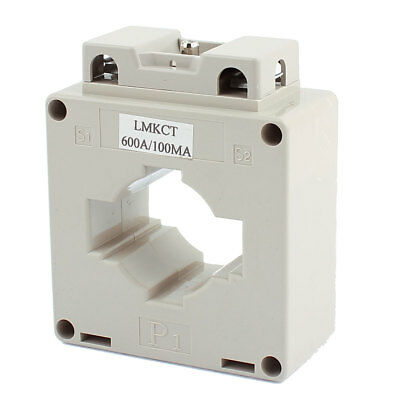 LMKCT 600/0.1A Ratio 1T Conductor Through Current Transformer CT for Tests