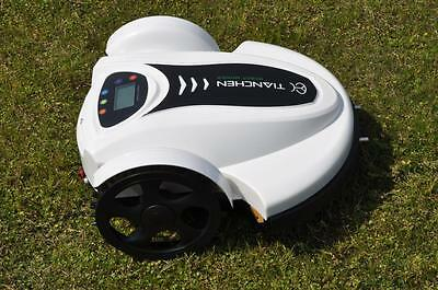Robotic Robot Lawnmower Electric Lithium New Lcd Schedule Uk Exgain Grass Cutter