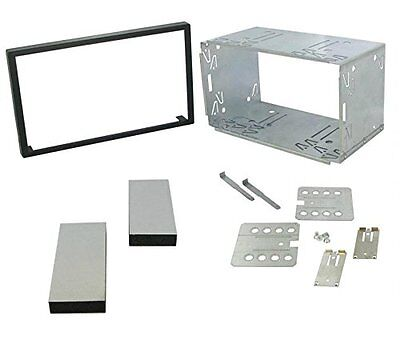 103mm UNIVERSAL DOUBLE DIN INSTALLATION FRAME CAGE KIT: car stereo, MP3 player