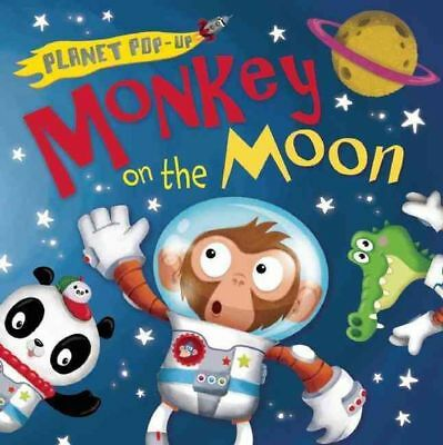 Planet Pop-Up: Monkey on the Moon by Jonathan Litton Hardcover Book (English)