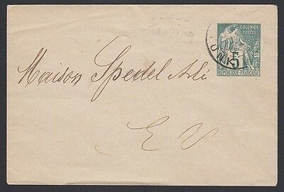 INDO-CHINA, 1896. Cover H&G B1, Tonkin Local