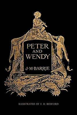 Peter and Wendy: Illustrated by James Matthew Barrie (English) Paperback Book Fr