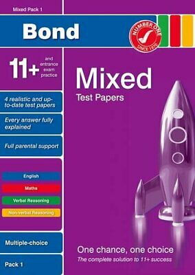 Bond 11+ Test Papers: Multiple Choice: Mixed Pa... by Primrose, Alison Paperback
