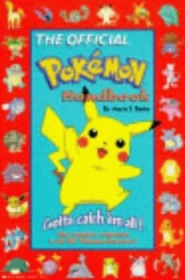 The Official Pokemon Handbook, Barbo, Maria S. Paperback Book The Cheap Fast