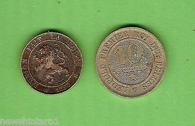 #d272.  Two   Old  Coins  From  Belgium