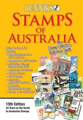 Renniks 15th Edition of the STAMPS OF AUSTRALIA STAMP CATALOGUE *** FREE POSTAGE