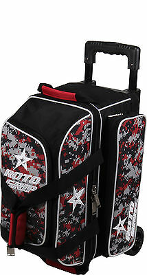 Bowling bag 2 Ball Scooter Roto Grip for 2 BowlingBalls in black/red/camoflauge