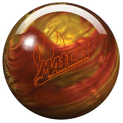 Storm Match Pearl Medium Reactive Bowling Ball multiple Hook on middle Tracks