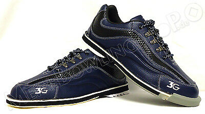 Men's Pro Bowling shoes 3G Sports Ultra blue/black with Change sole Pick