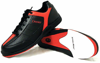 Bowling Shoes Men's Dexter Ricky III black/red for Right and Left-handed