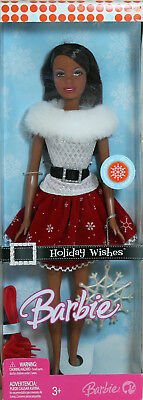 Holiday Wishes AA Barbie 2007, MIB NRFB - 36149