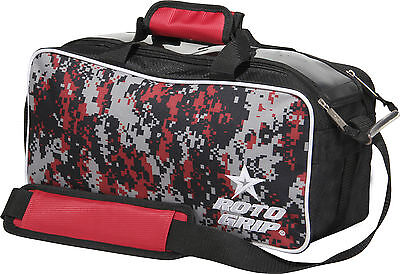 Bowling bag Roto Grip Double Tote bag for 2 Bowling Balls black/red/camouflage