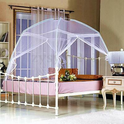 High QC Luxury Bedding Canopy Netting Mosquito Net Tent Dome Single Double Size