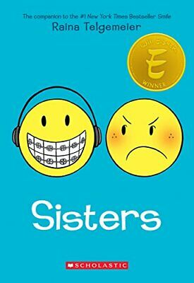 Sisters by Telgemeier, Raina Book The Cheap Fast Free Post