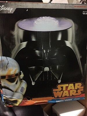 STAR WARS Darth Vader Table Top Mister Fogger Head of the Dark Lord HALLOWEEN