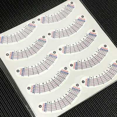LashArt Signature Lash Map Stickers Under Eye Paper Pads Eyelash Extension