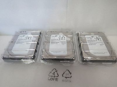 Lot of 3 Seagate Constellation ES ST2000NM0001 2TB 7.2K 64MB SAS 6Gb/s 3.5'' HDD
