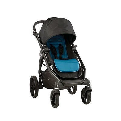 Baby Jogger 2016 City Premier Stroller - Black / Teal Brand New! Free Shipping!