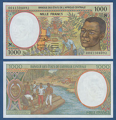 CENTRAL AFRICAN STATES / EQUATORIAL GUINEA 1000 Francs (20)00 UNC P.502N g